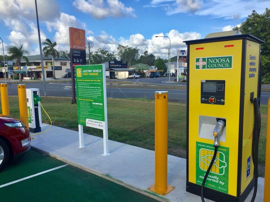 Noosa's Electric Vehicle Expo 12th may