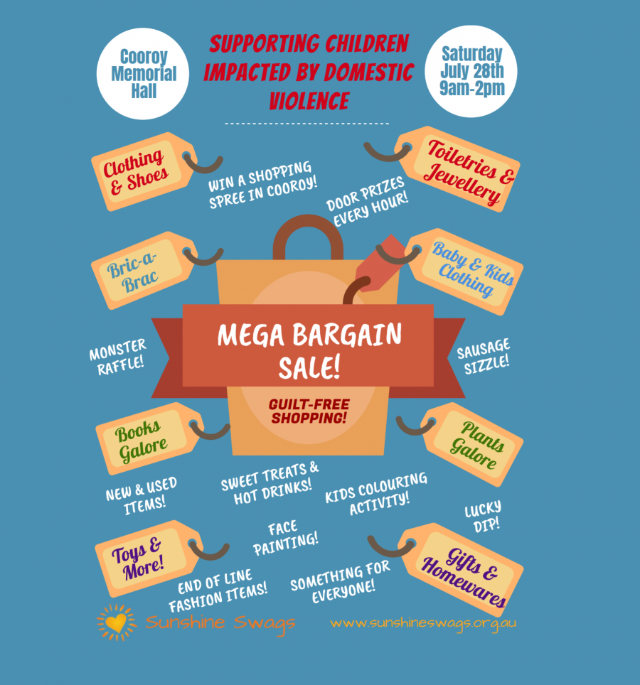 We give a buck – Join the MEGA Bargain Sale on 28th July